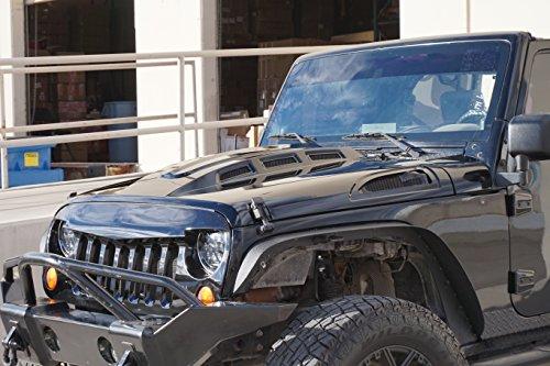 Genssi Custom Avenger Abs Hood For Jeep Wrangler Jk 2007