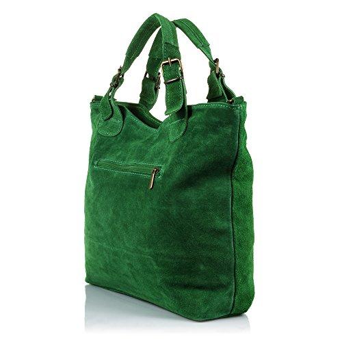 clair porter ARTEGIANI FIRENZE pour Sac gris femme Vert à l'épaule à wBxzqxXd