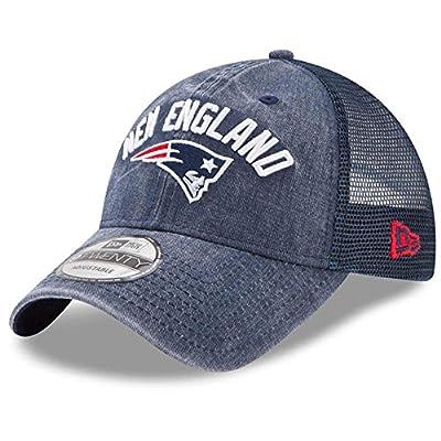 New England Patriots New Era Rugged Team 9Twenty Adjustable Trucker Hat
