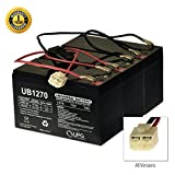AlveyTech 36 Volt Battery Pack for The Razor EcoSmart Metro (9 Ah, with Harness)