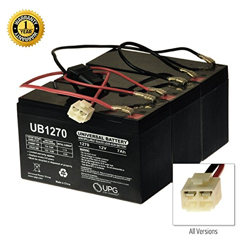 AlveyTech 36 Volt Battery Pack for The Razor EcoSmart Metro (7 Ah, with Harness)