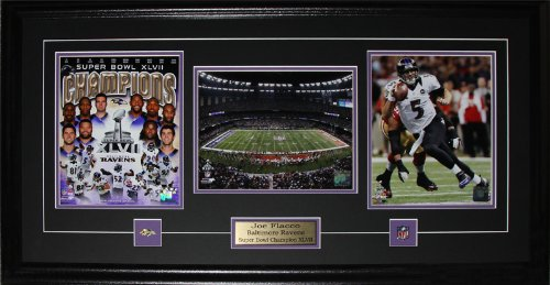 Joe Flacco Baltimore Ravens Superbowl XLVII 3 photo (Baltimore Ravens Picture Frame)