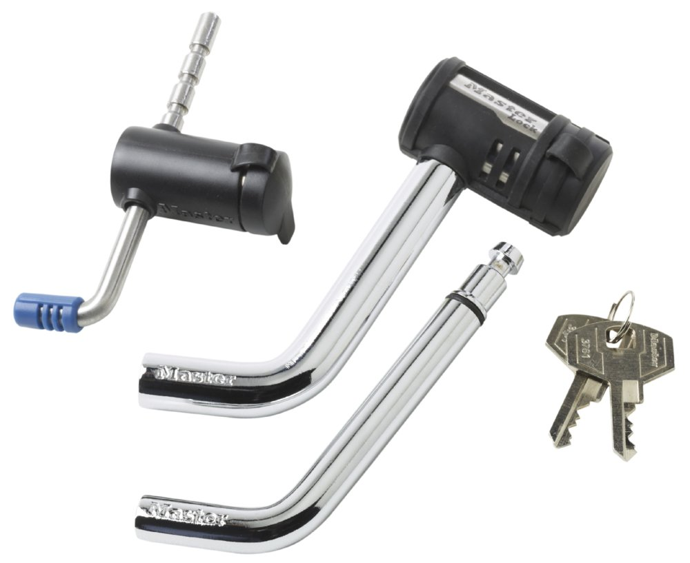 Master Lock 2848DAT Key Alike Set with Receiver and Coupler Latch Locks, 2-Piece Set by Master Lock