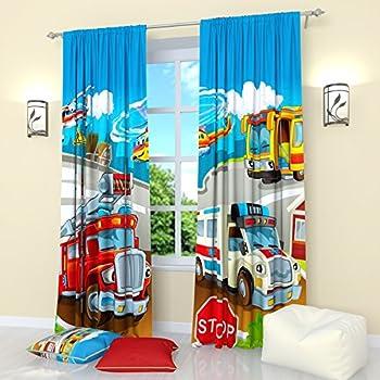Amazon Com Cars 3 Lightning Curtains 72 Inch Home