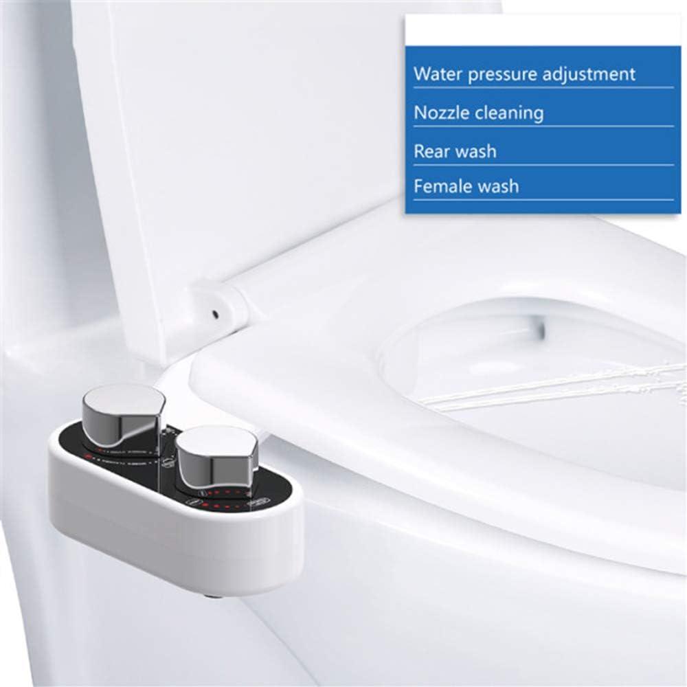 Intimdusche unter dem Toilettendeckel installieren Taharet ohne Strom Popodusche CANDYANA Deluxe Dusch-WC zur optimalen Intimpflege