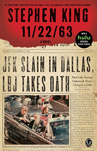 Book cover from 11/22/63: A Novel by Stephen King