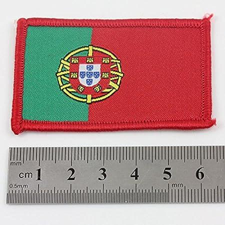 Amor cordones Portugal 6,5 cm X 4 cm en hierro bordado bandera nacional Portugues 079 BUY 2 GET 1 insignia libre - bicicleta: Amazon.es: Hogar