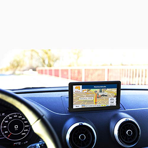 GPS Navigation for Car,7 Inch GPS Navigation System, 8GB 256MB Car Truck sat nav, Touch Screen Real Voice Direction 2019 Latest Maps Free Updates (Best Gps For Italy 2019)