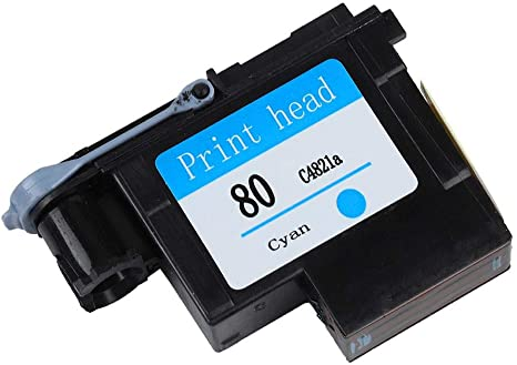Eboxer Cabezal de Impresión HP80 Designjet Series 1000/1050/1055, sin Atasco de Papel,C4820a negro/C4822a magenta/C4823a amarillo/C4821a Cian/CMYK(Azul): Amazon.es: Electrónica