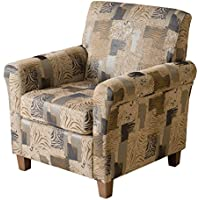Denise Austin Home Siracusa Animal Print Club Chair