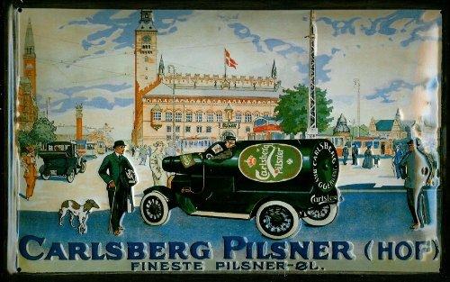 carlsberg-truck-embossed-3d-vintage-metal-pub-sign