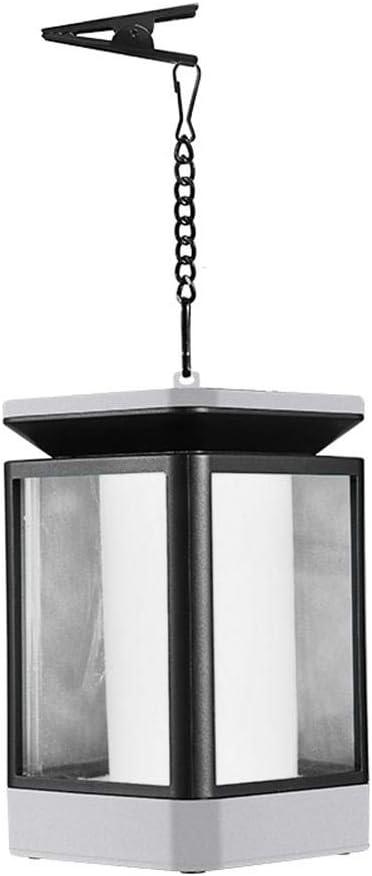 Farol solar Starnearby, farolillo colgante LED solar con vela, lámpara solar para exterior, decoración de jardín, farol solar de jardín con diseño de vela: Amazon.es: Iluminación