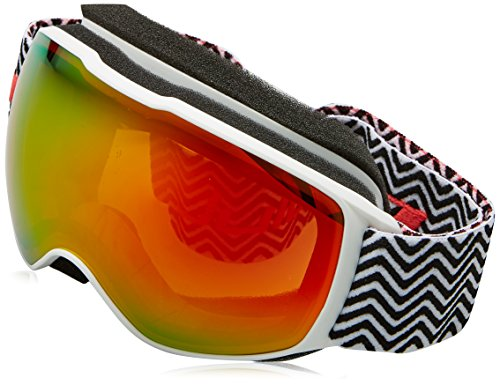 Julbo Eyewear Unisex Echo (7-10 Years Old) Black/White With Tweed Spectron 3 Color Flash Lens One Size