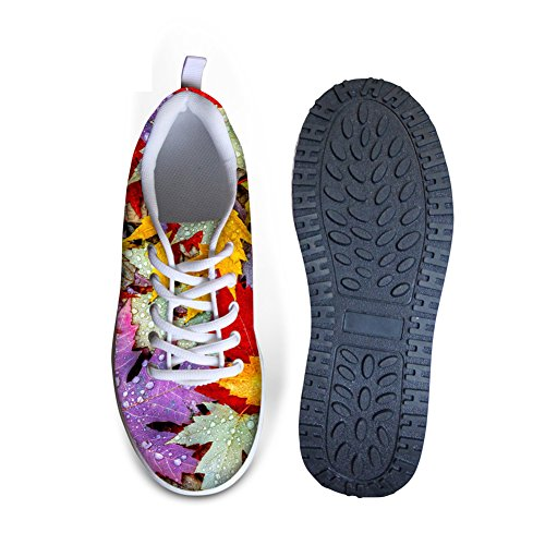 Abrazaderas Idea Mujeres Strength Fitness Walking Sneakers Leaf5