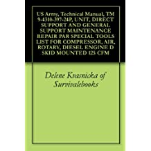 US Army, Technical Manual, TM 9-4310-397-24P, UNIT, DIRECT SUPPORT AND GENERAL SUPPORT MAINTENANCE REPAIR PAR SPECIAL TOOLS LIST FOR COMPRESSOR, AIR, ROTARY, DIESEL ENGINE D SKID MOUNTED 125 CFM