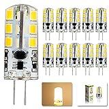 ELINKUME 10x 2015 new AC DC 12V G4 Led bulb Lamp SMD 2835 4W Replace 10w 30w halogen lamp light 360 Beam Angle luz lampada led