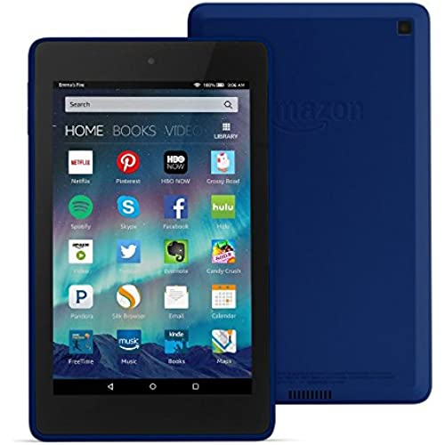 Fire HD 6 Tablet, 6 HD Display, Wi-Fi, 16 GB - Includes Special Offers, Cobalt Coupons