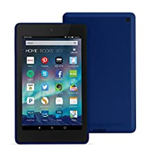 """Fire HD 6 Tablet, 6"""" HD Display, Wi-Fi, 8 GB - Includes Special Offers, Cobalt (Previous Generation - 4th)"""
