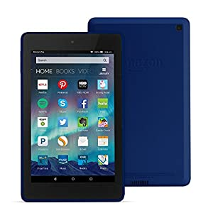 "Fire HD 6 Tablet, 6"" HD Display, Wi-Fi, 8 GB - Includes Special Offers, Cobalt (Previous Generation - 4th)"