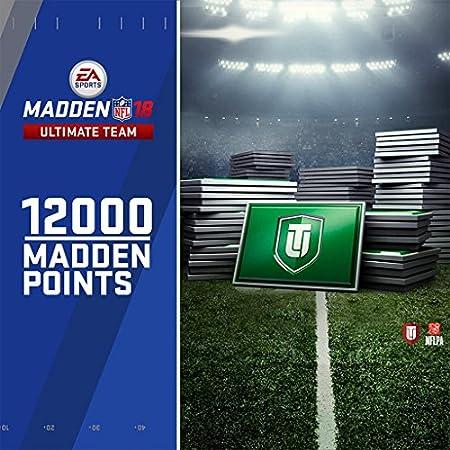 Madden NFL 18: 12000 MUT Points - PS4 [Digital Code]