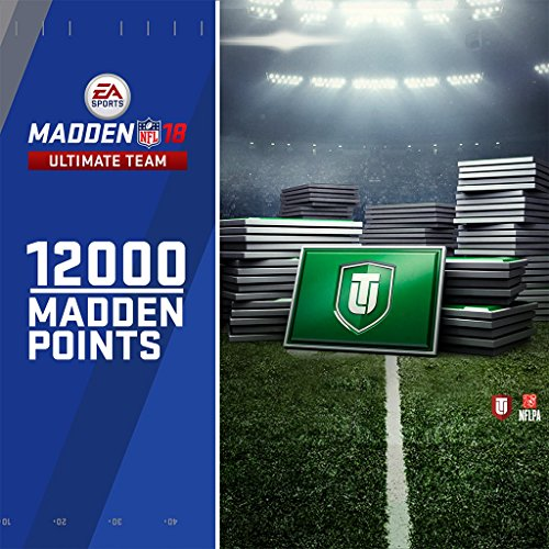 Madden 18 - 12000 Ultimate Team Points - PS4 [Digital Code]
