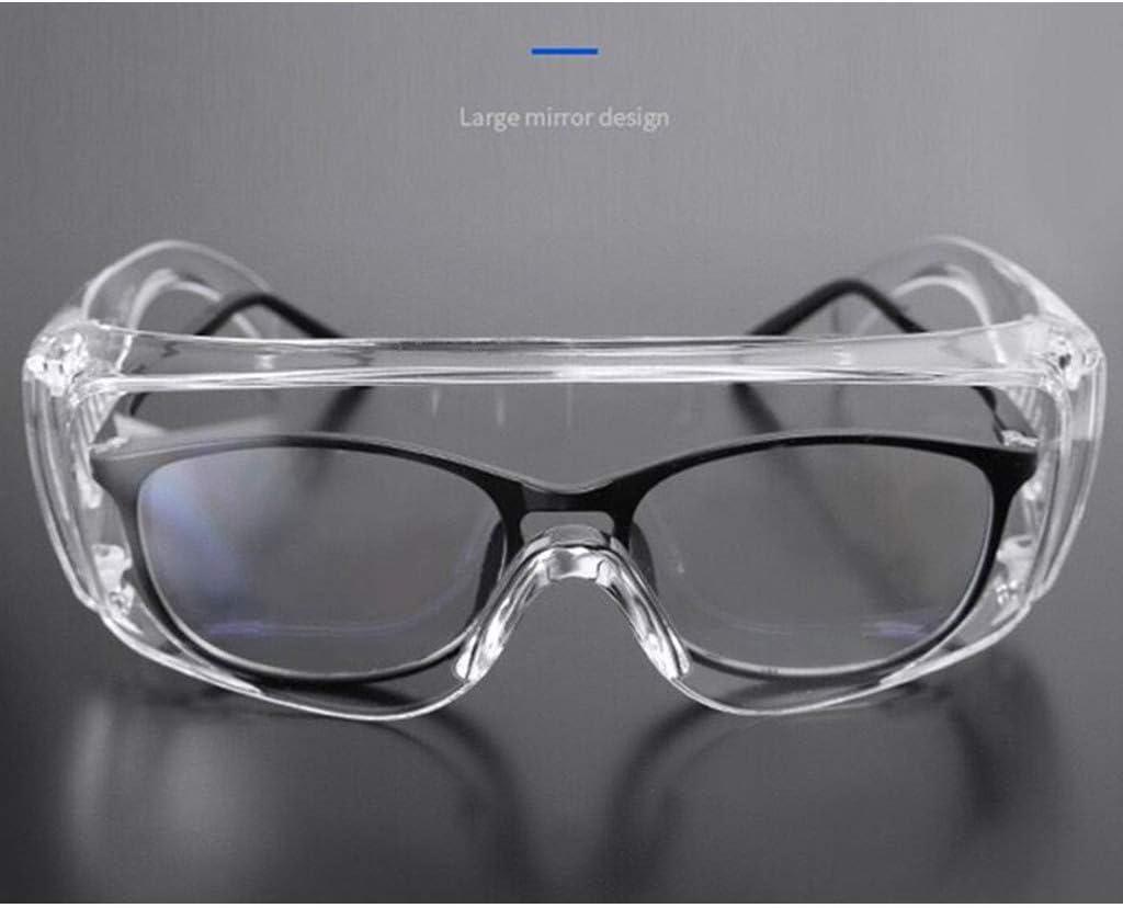 1 Anti-Speichel HD Antivirus-Brille Setsail Schutzbrille Indirekte Entl/üftung Anti-Fog Transparente Augenmaske Fog Blocking Anti-Staub Anti-Tr/öpfchen Einstellbare Schutzbrille Unisex