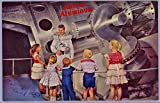 Disneyland Tomorrowland Kaiser Aluminum Exhibit - Vintage Anaheim California Souvenir Postcard