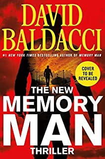 Book Cover: New Memory Man Thriller