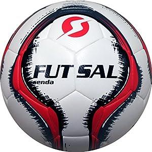 Senda Vitoria DuoTech Match Futsal Ball, Fair Trade Certified, Red/Gray, Size 4 (Ages 13 & Up)