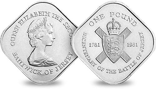 Change Checker 1981 Jersey Square /£1 Coin