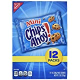 Chips Ahoy Mini Cookie Single Serve Packs, 12 Ounce, 2-Pack