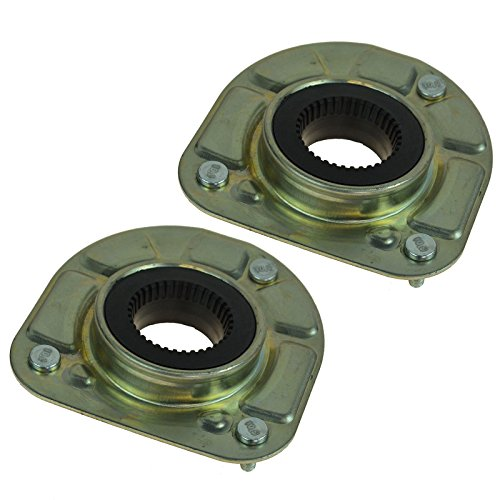 Front Upper Strut Mount w/Bearing Left & Right Pair Set of 2 for Volvo ()
