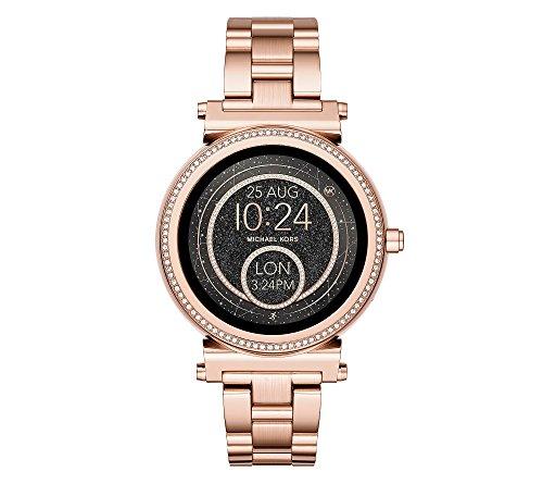 Michael Kors Access Sofie Rose Goldtone Touchscreen Smart Watch