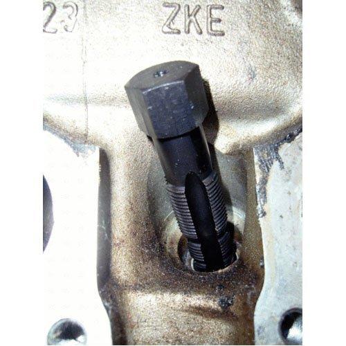 KS Tools 150.1280 Z/ündkerzengewinde-Reparatur-Satz 16-tlg.