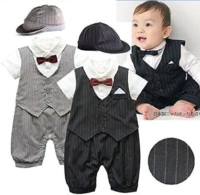 Baby Boy boda, bautizo Formal esmoquin traje desgaste traje ...