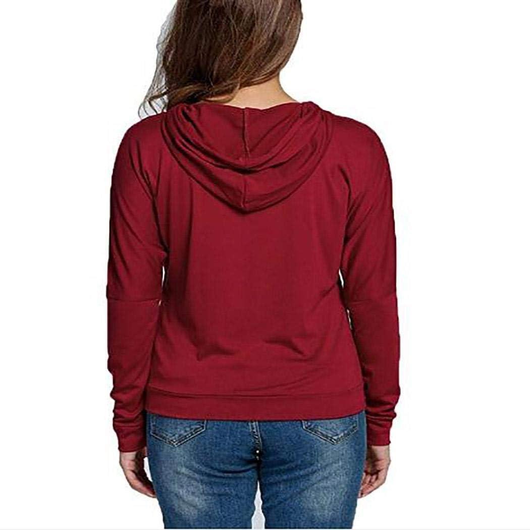sandinged Women Casual Hooded Neck Long Sleeve Letter Print Pullover Regular Hoodies Fashion Hoodies