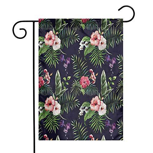 funkky Leaf Garden Flag Romantic Bouquet Corsage Motif Premium Material 12