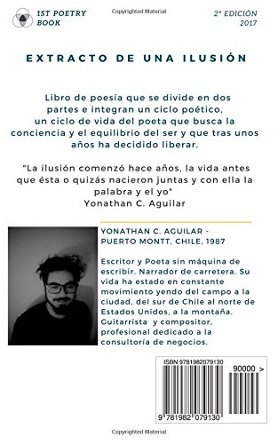 Amazon.com: Extracto de una Ilusión (Spanish Edition) (9781982079130): Yonathan C. Aguilar: Books