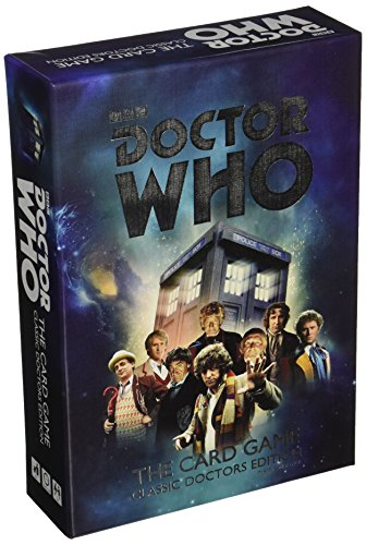 Doctor Who Card Game: Classic Doctors Edition
