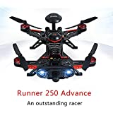 Walkera Runner 250 Advance GPS System RC Drone Quadcopter RTF with DEVO 7 Remote Control / OSD / Camera / GPS V4 (1080P Camera)
