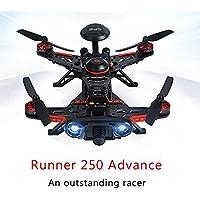 Walkera Runner 250 Advance GPS System RC Drone Quadcopter RTF with DEVO 7 Remote Control / OSD / Camera / GPS V4 (1080P Camera)