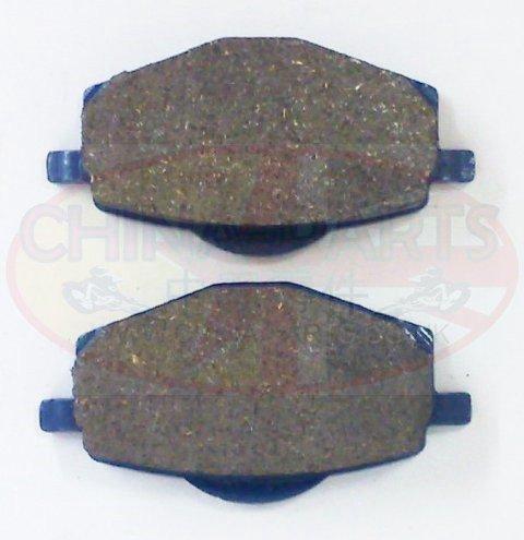 3D91 Brake Pads for Yamaha YBR 125 ED 05-06 F