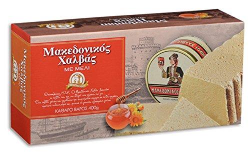 Greek Macedonian Halva with Honey 400gr 14.10 Oz by Xaitoglou