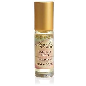 Kuumba Made Vanilla Bean Fragrance Oil Roll-On .125 Oz / 3.7 ml (1-Unit)