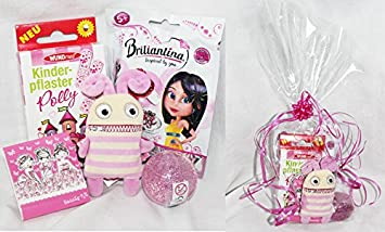 110002 Geschenk Set Polly Pink Für Mädchen 5 7 Jahre