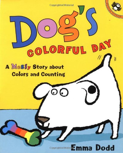 Dogs Colorful Day Counting Picture product image