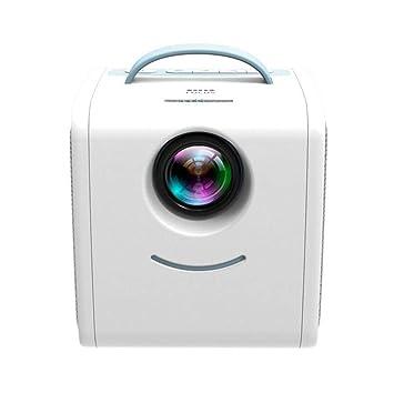 Proyector Home 1080P HD, proyector portátil LED for niños, se ...