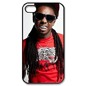 Lil Wayne iPhone 4S 4 case Customized Back Protective Cover Case for Apple iPhone 4S and iPhone 4