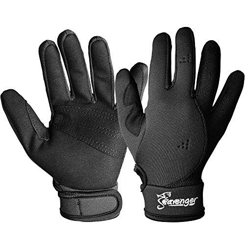 Seavenger 1.5mm Mesh Reef Glove -(Black) - L