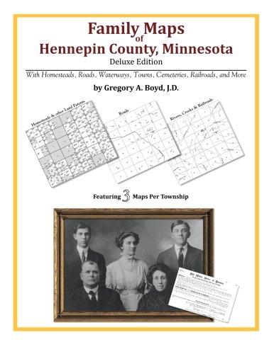 Family Maps of Hennepin County, Minnesota (Map Minnesota County)